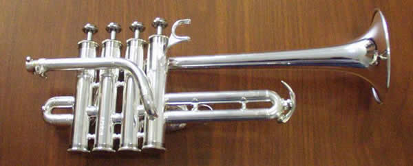 how to hold a piccolo trumpet